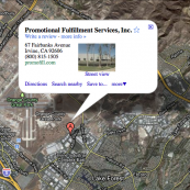 Promotional Fulfillment Services, Inc. announces relocation plans for its West Coast Distribution Center located at 67 Fairbanks Avenue, Irvine, CA 92618 (Orange County, CA).